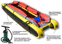 Фото Inflatable stretcher