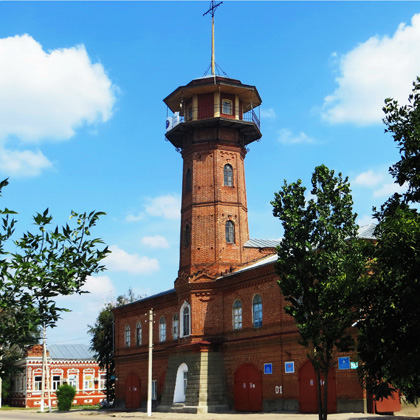 G. Hvalynsk. Fire tower 1896, Architect unknown