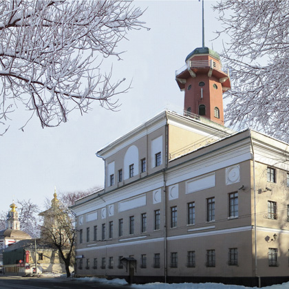 Moscow. Fire tower 1830 the Architect is unknown