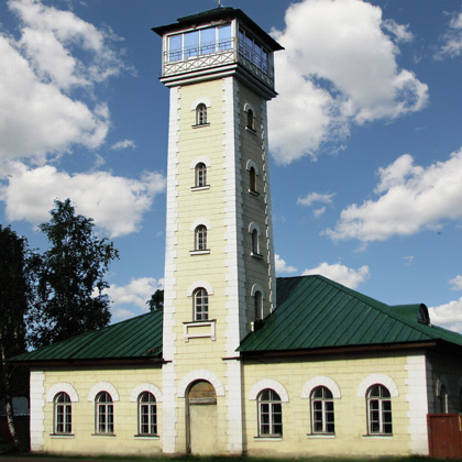Vologda. Fire tower 1853 Architect unknown