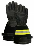 Фото Five-fingered leather fireman's gloves article 7982