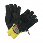 Фото Leather firefighter gloves model PATRON® fire Strickbund
