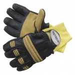 Фото Leather firefighter gloves model Patron® Pbi Strickbund
