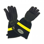 Фото Leather firefighter gloves model PATRON ® Standart
